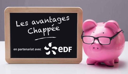 les avantages Chappée Prime énergie en partenariat avec EDF