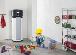 Chauffe-eau thermodynamique installé en intèrieur