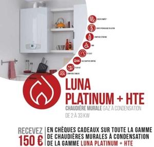 Visuel Luna Platinum + HTE pour la Quinzaine du Gaz, opération GDRF 2018