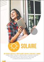 Photo de couverture du chapitre solaire du catalogue tarif chappée 2018