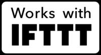 Compatible avec le service IFTTT