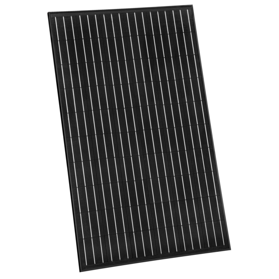 panneaux photovoltaïques à cellules noires