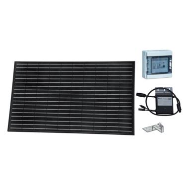 panneau photovoltaïque montage en marquise