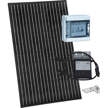 panneau photovoltaïque avec kit