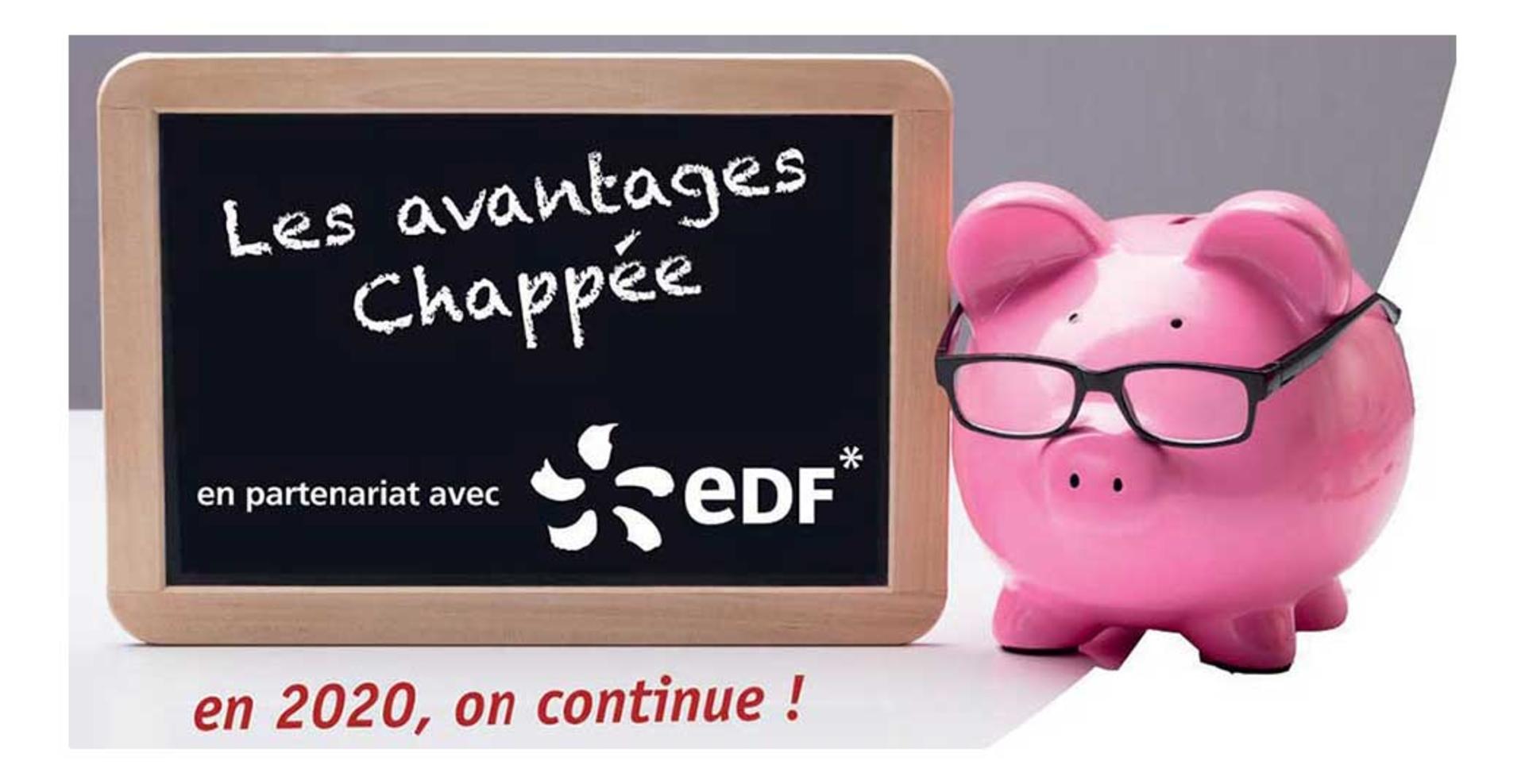 Promotion edf prime énergie chappée en partenariat avec EDF