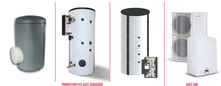 production d'eau chaude sanitaire collective