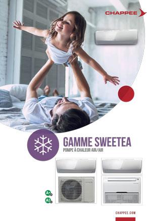 catalogue climatisation réversible de la marque Chappée